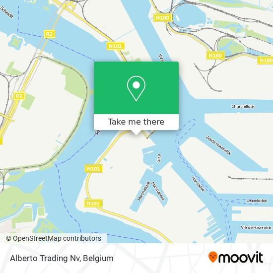 Mapa Alberto Trading Nv