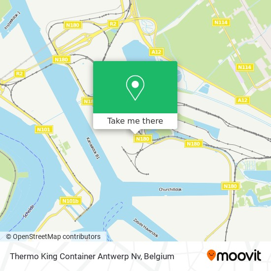 Thermo King Container Antwerp Nv Karte