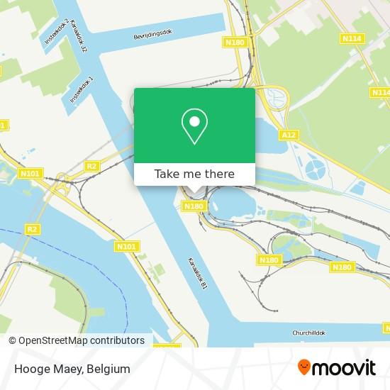 Hooge Maey Karte
