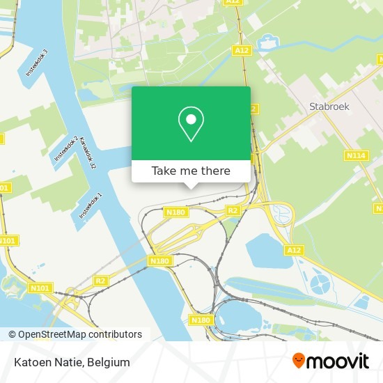 Katoen Natie map