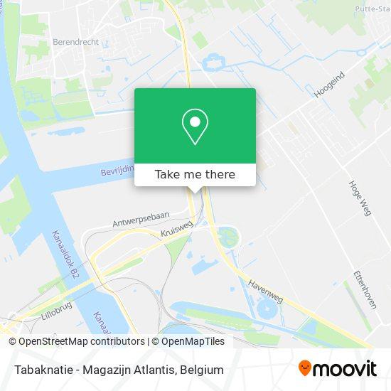 Tabaknatie - Magazijn Atlantis map