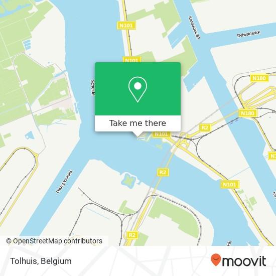 Tolhuis map