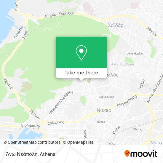 Άνω Νεάπολη map
