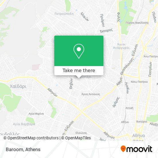 Baroom map