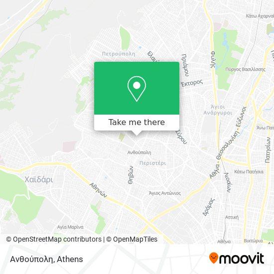 Ανθούπολη map