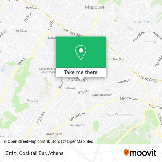 Σπίτι Cocktail Bar map