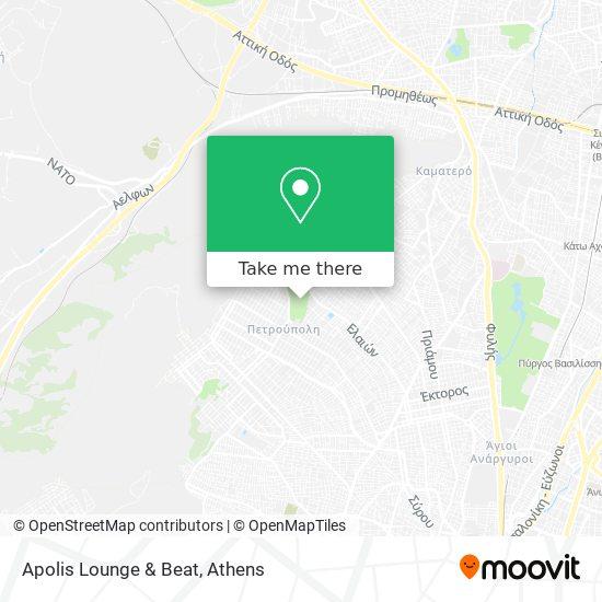 Apolis Lounge & Beat map