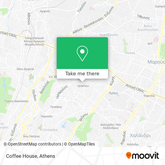 Coffee House map