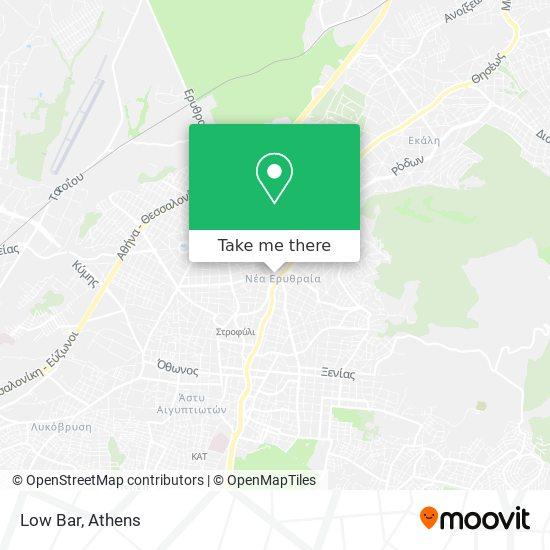Low Bar map