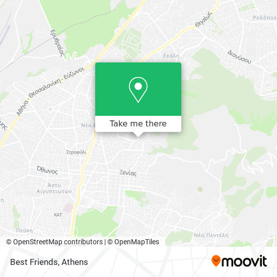 Best Friends map