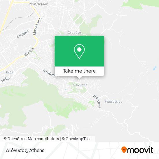 Διόνυσος map