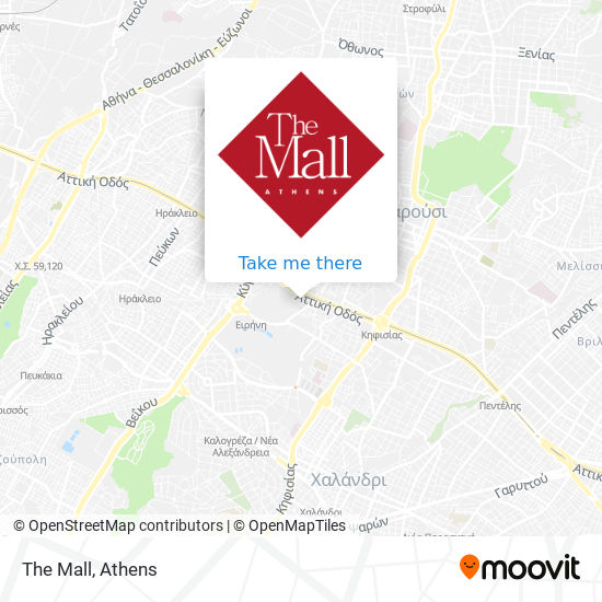 The Mall map
