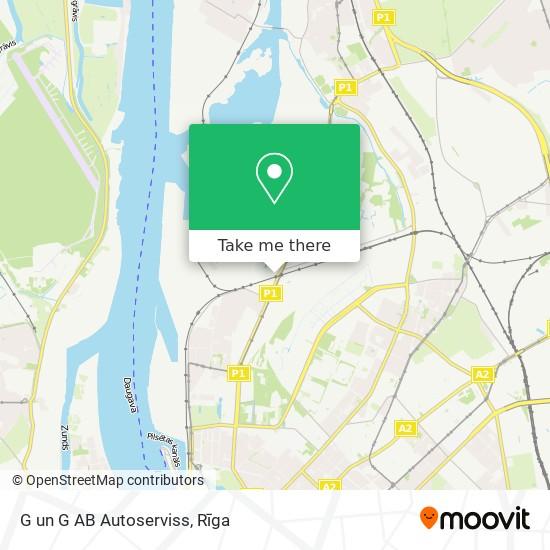 G un G AB Autoserviss map