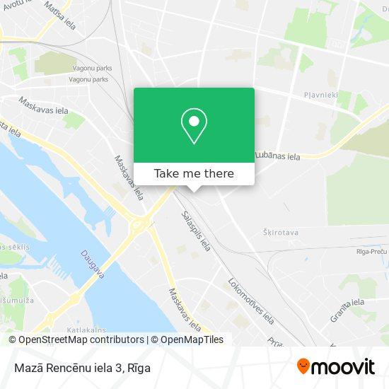 Mazā Rencēnu iela 3 map