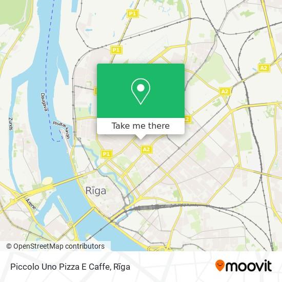 Piccolo Uno Pizza E Caffe map