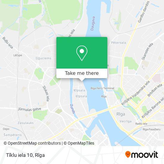 Tīklu iela 10 map