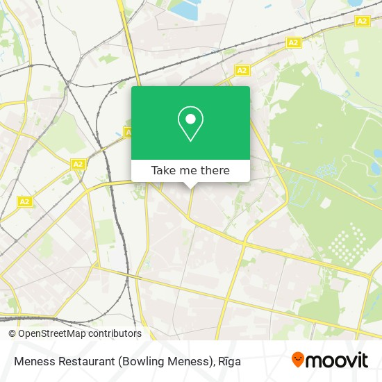 Meness Restaurant (Bowling Meness) map