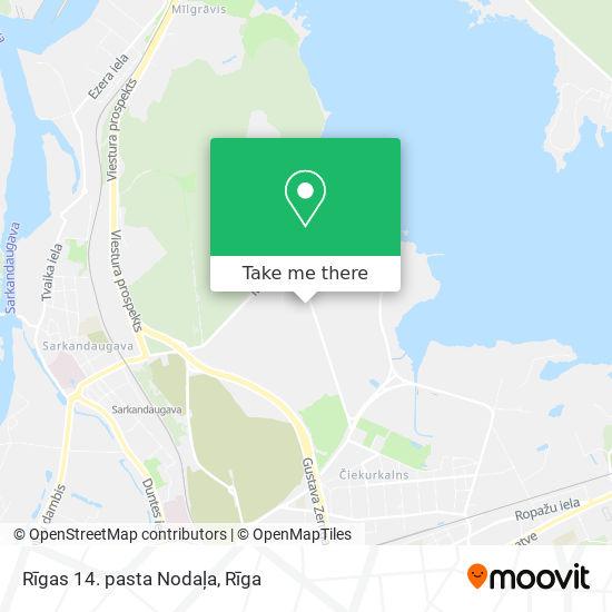Rīgas 14. pasta Nodaļa map