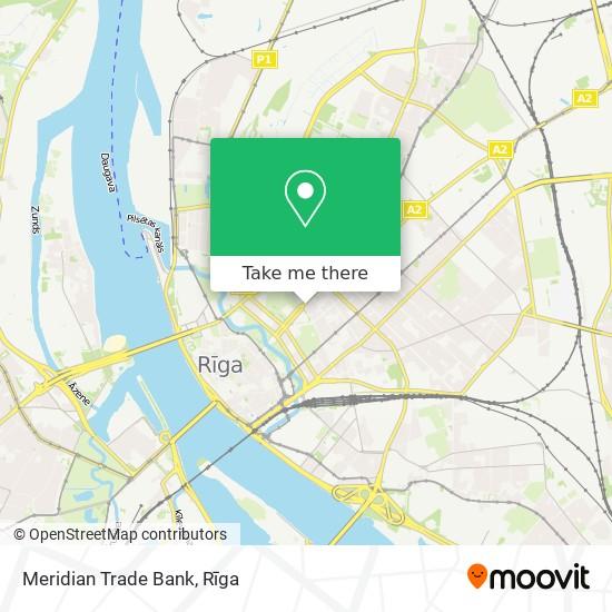 Meridian Trade Bank map