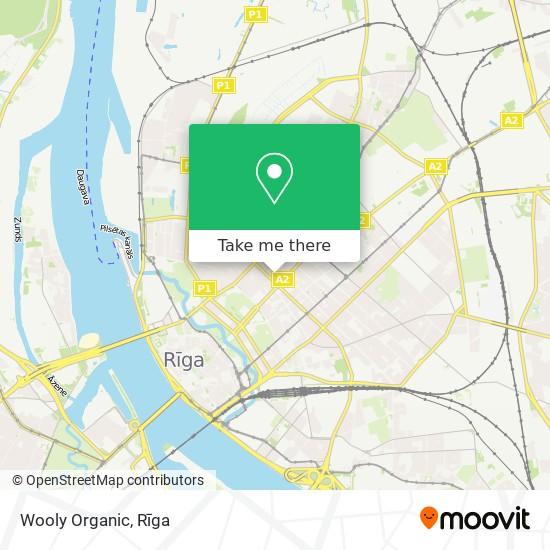 Wooly Organic map