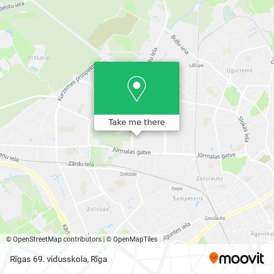 Rīgas 69. vidusskola map