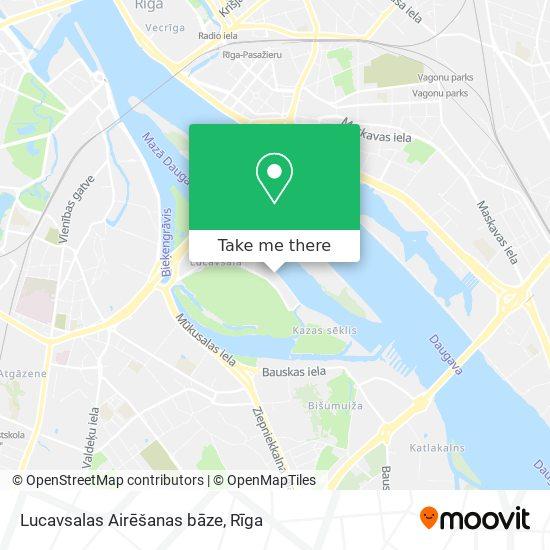 Lucavsalas Airēšanas bāze map
