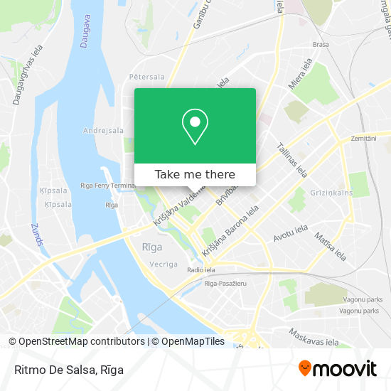 Ritmo De Salsa map