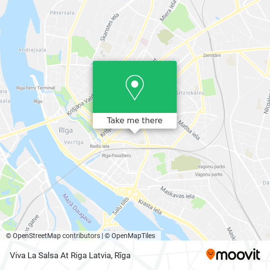 Viva La Salsa At Riga Latvia map