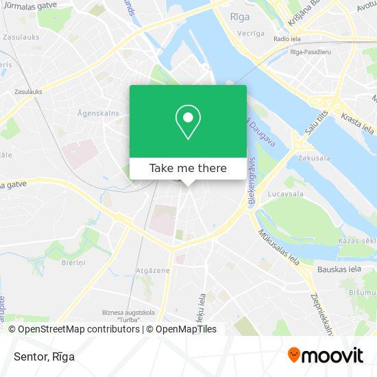 Sentor map