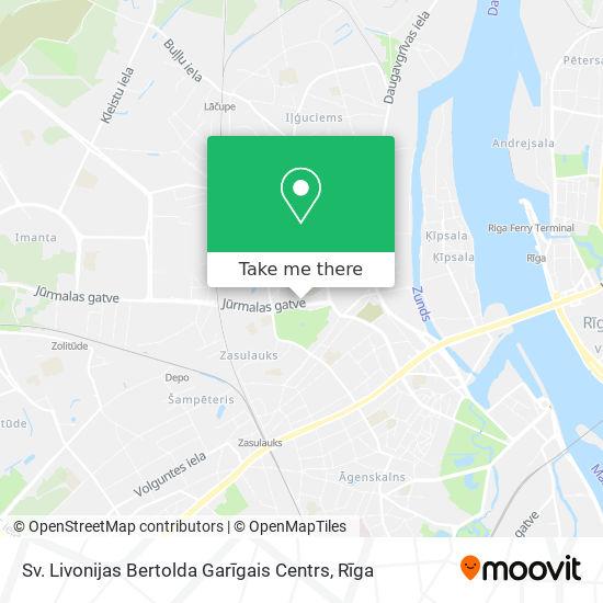 Sv. Livonijas Bertolda Garīgais Centrs map