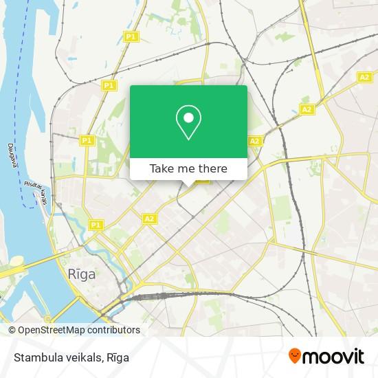 Stambula veikals map