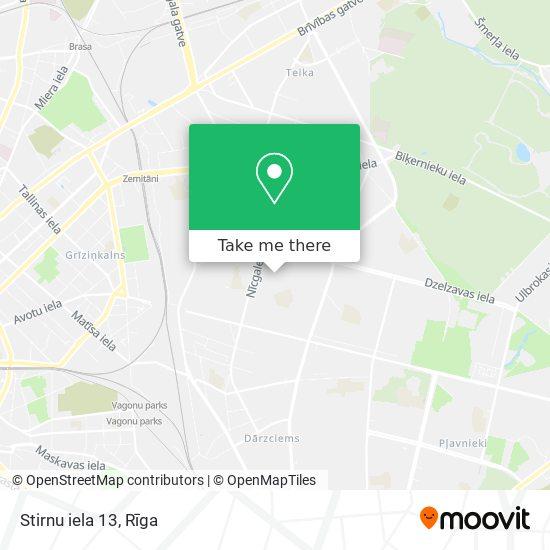 Stirnu iela 13 map