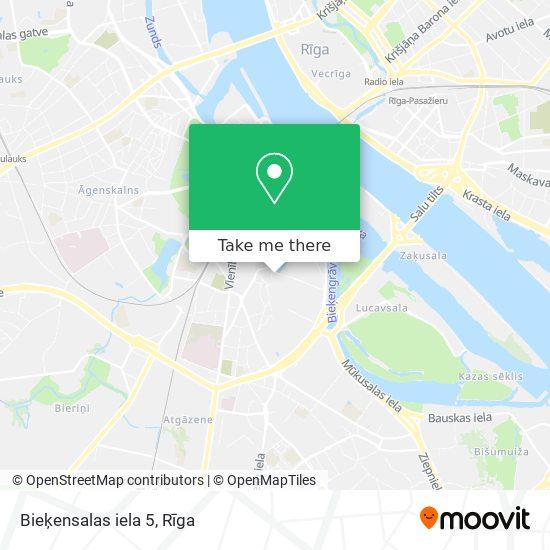 Bieķensalas iela 5 map