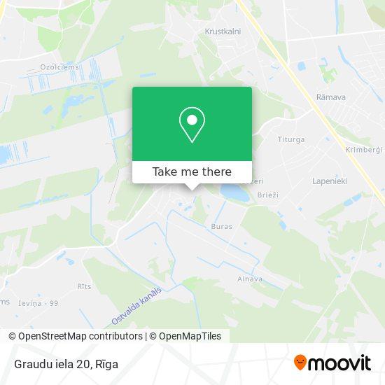 Graudu iela 20 map