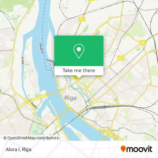 Alora I map