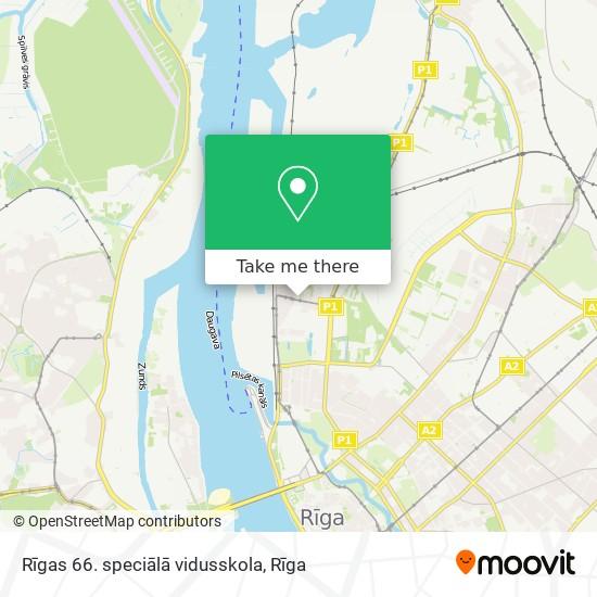 Rīgas 66. speciālā vidusskola map
