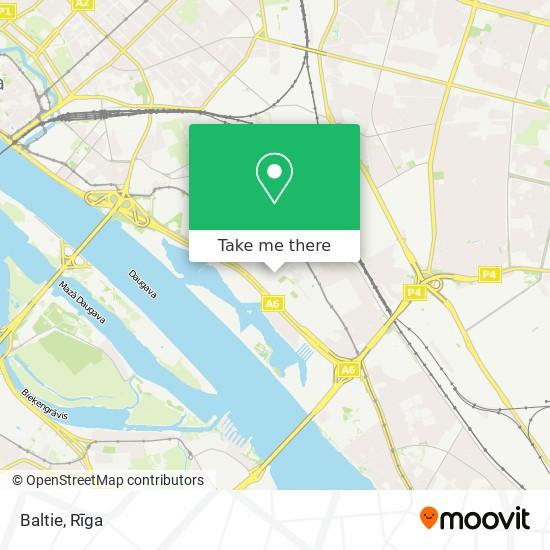 Baltie map