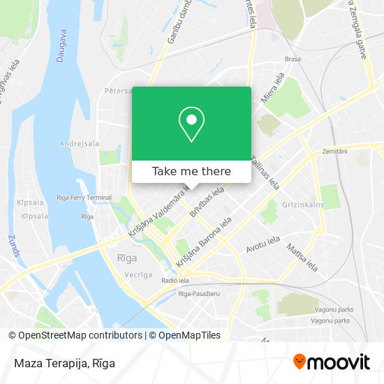 Maza Terapija map