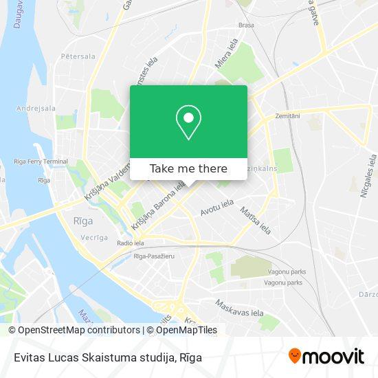 Evitas Lucas Skaistuma studija map