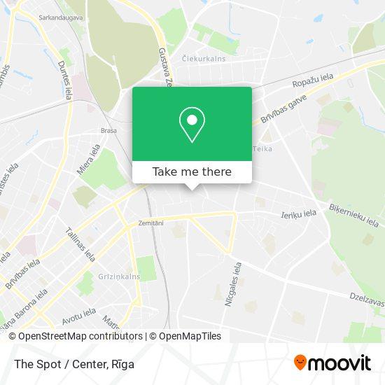The Spot / Center map