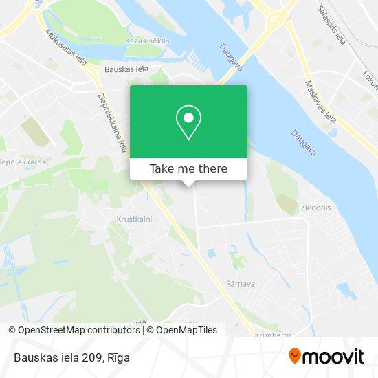 Bauskas iela 209 map