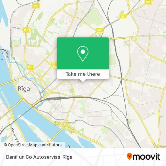 Denif un Co Autoserviss map