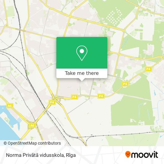 Norma Privātā vidusskola map