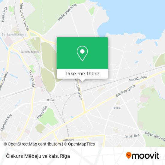 Čiekurs Mēbeļu veikals map