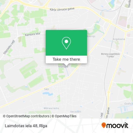 Laimdotas iela 48 map