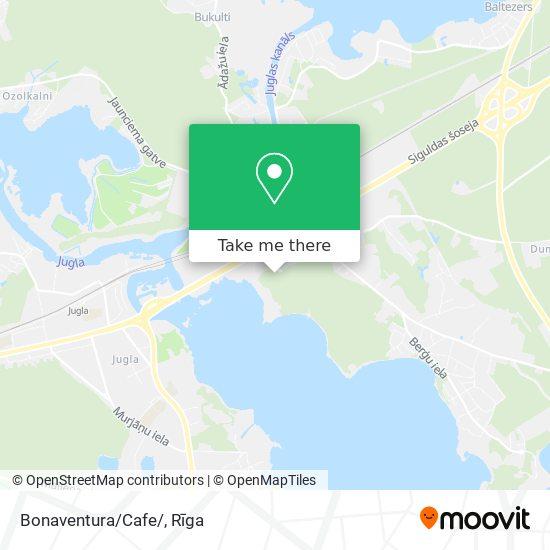 Bonaventura/Cafe/ map