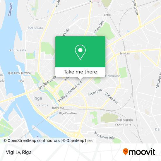 Vigi.Lv map