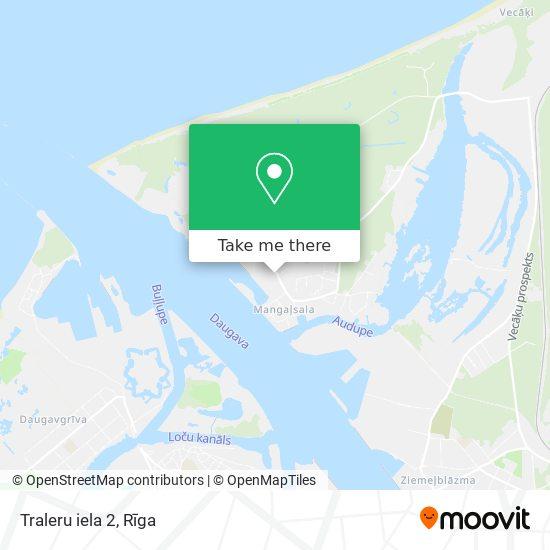 Traleru iela 2 map