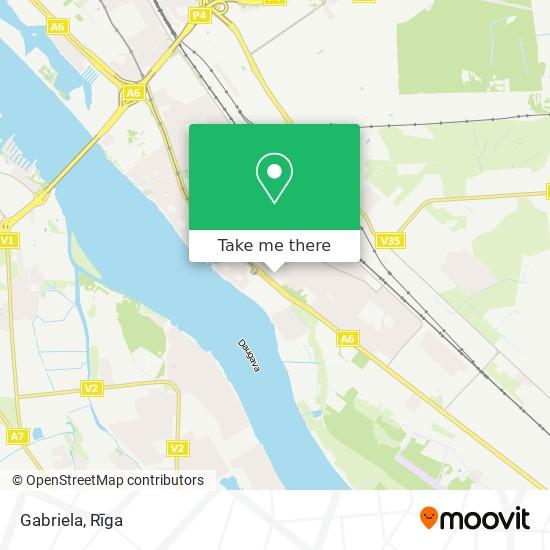 Gabriela map