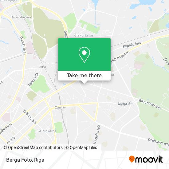 Berga Foto map